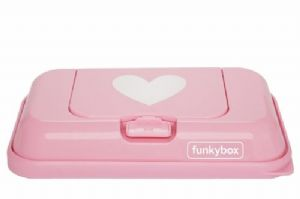 Funkybox To Go - Pink/White Heart